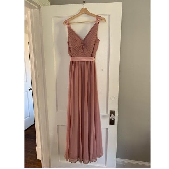 1153df2cf54 Azazie Dresses   Skirts - Azazie Leanna Bridesmaid Dress Color Dusty Rose